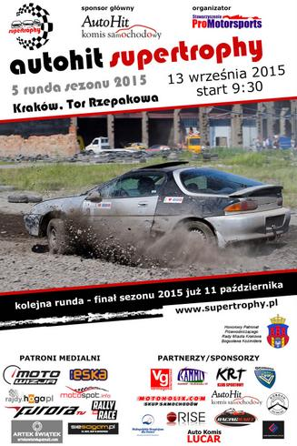 plakat Supertrophy: 13.09.2015