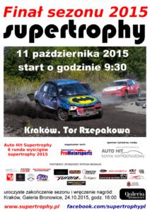 final 212x300 Supertrophy: Finał Sezonu 2015